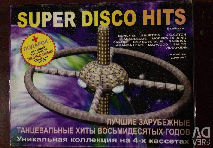 Super discoteca lovește 80 de casete