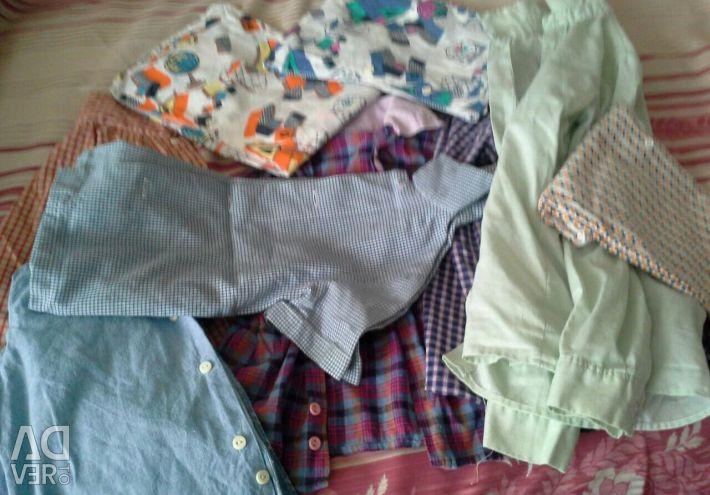 Ρούχα για ένα αγόρι από 2 έως 7-8 ετών.