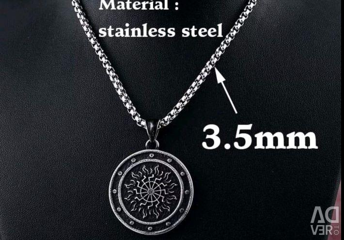 Lanț cu oțel pendant 316 L