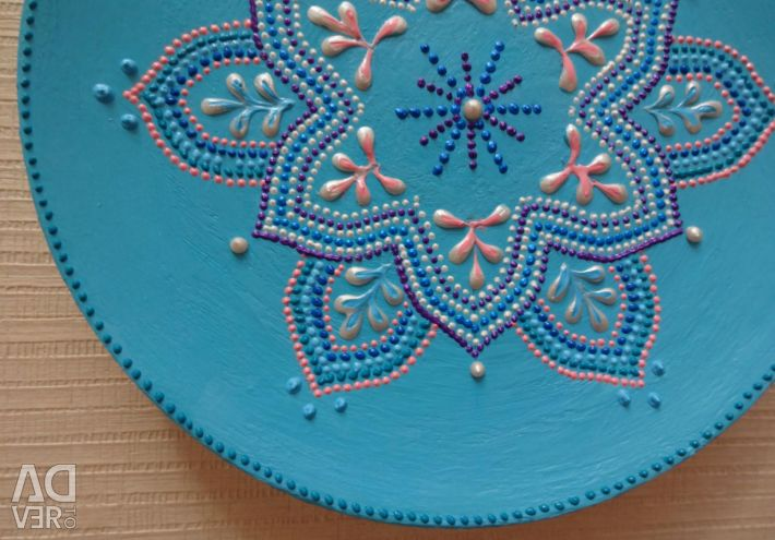 Plate decorative Blue Dream (2)