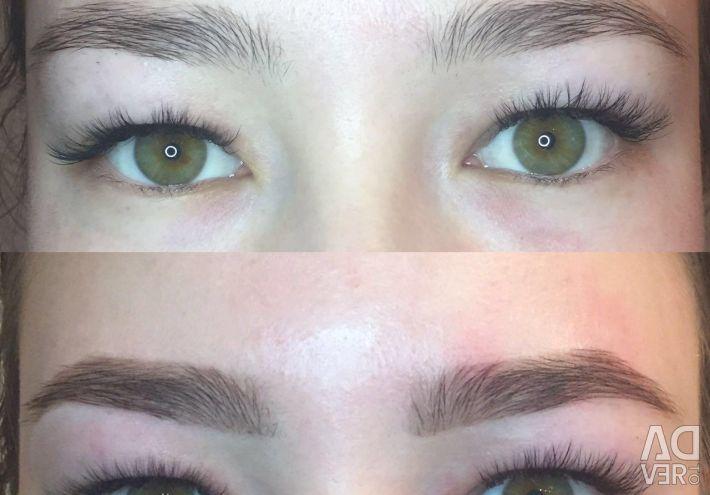 Eyebrows Henna Laminating Eyelashes Microblazing Location Saint