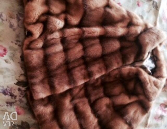Mink fur coat expensive fur urgently