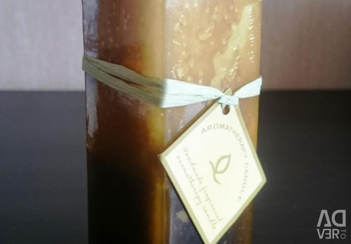 New aromatic candle