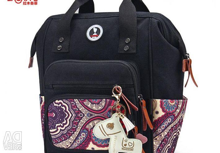Bag-bag female for mothers of Lagaffe