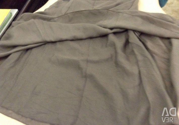 Summer skirt, natural silk, 44-46 Germany.