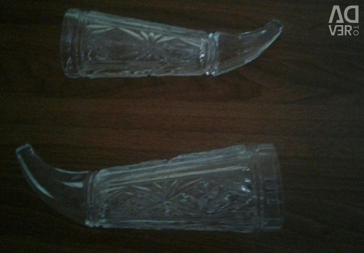 Crystal Horn 2pcs.