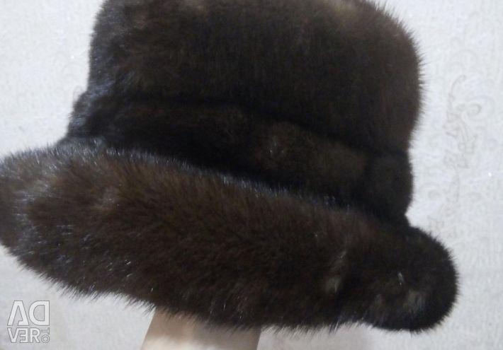 I will sell a mink cap