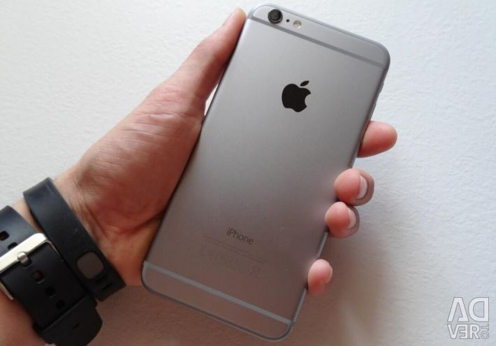 New iPhone 6 Plus (128gb), silver