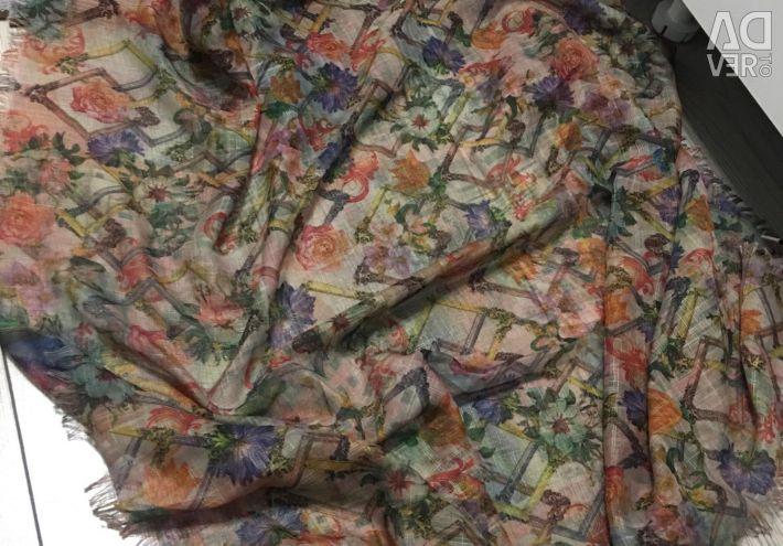 Шарф платок палантин новый