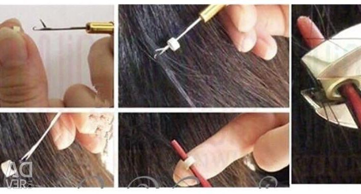 Capsules for hair extensions