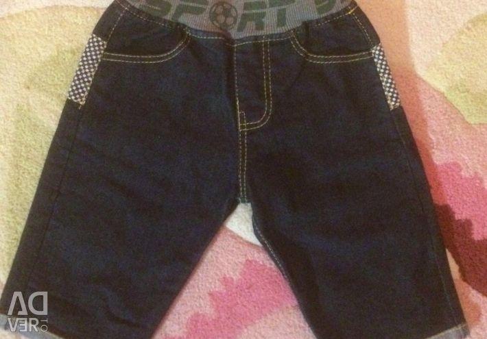 Двоє джинс 6-9 міс