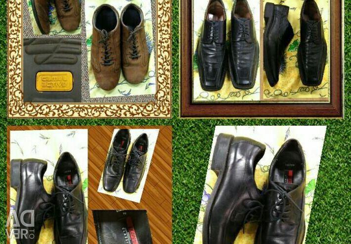 Μάρκα δερμάτινα παπούτσια