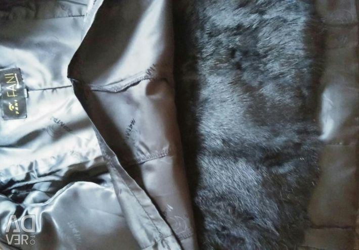 Demi leather jacket leather