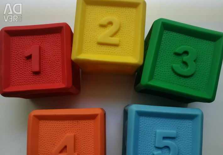 Educational cubes.