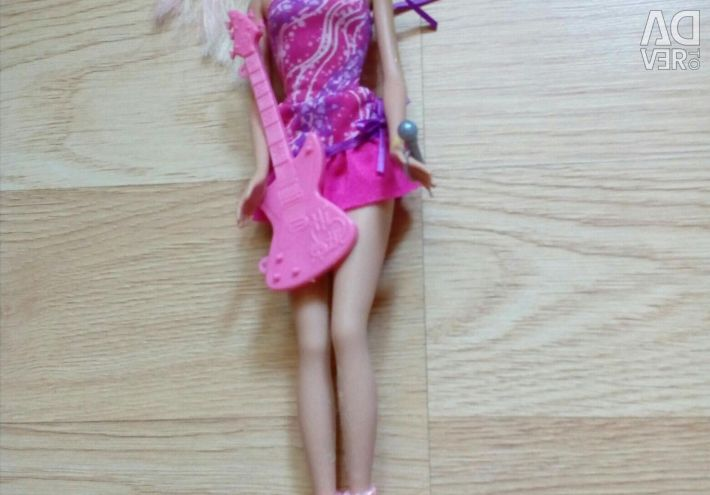 Barbie doll rock princess (bought for 3000)