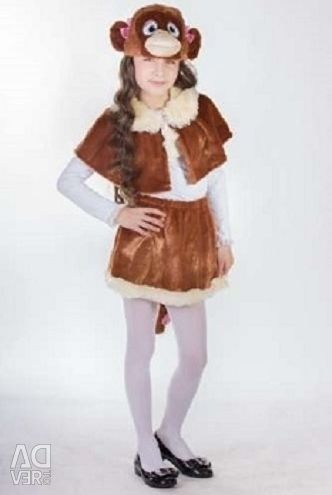 Costumes for 4-7 years old Monkey and Monkey,