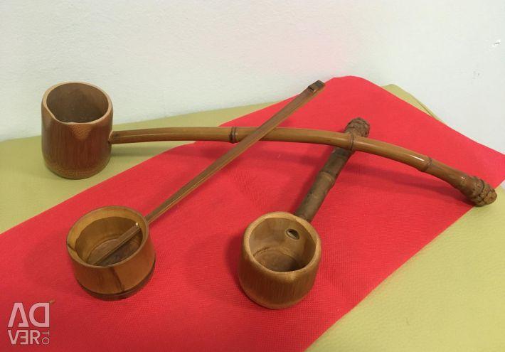 Черпак ковш Хисяку для чайной церемонии