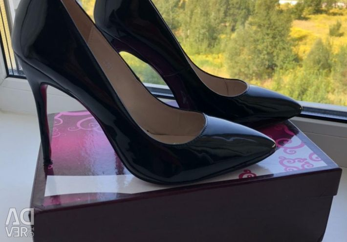 Туфли нат.кожа р.38