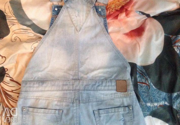 New denim overalls