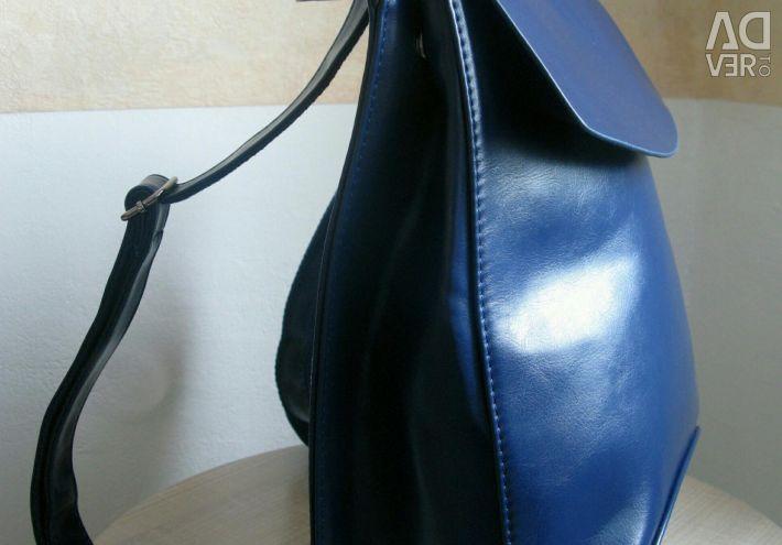 Backpack-Transformer Albastru