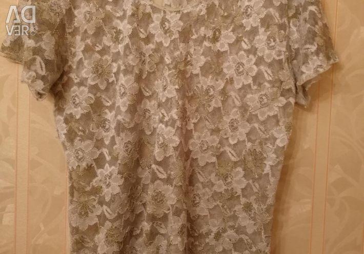 Lace t-shirts 48-50 size