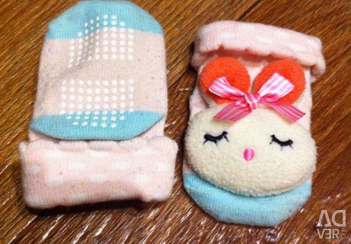 Non-slip socks bunnies