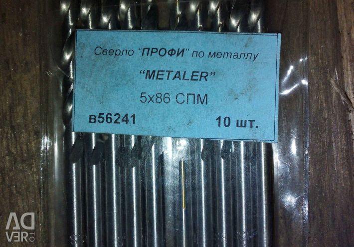 Metal drill heller