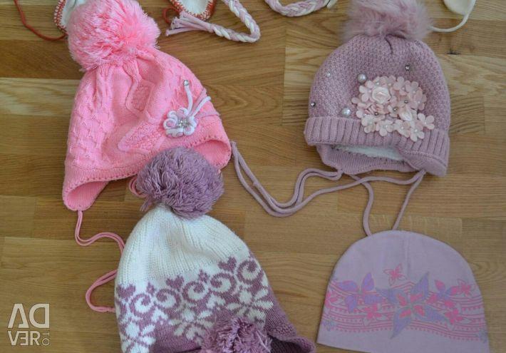 Καπέλα για κορίτσια 1-3 χρόνια