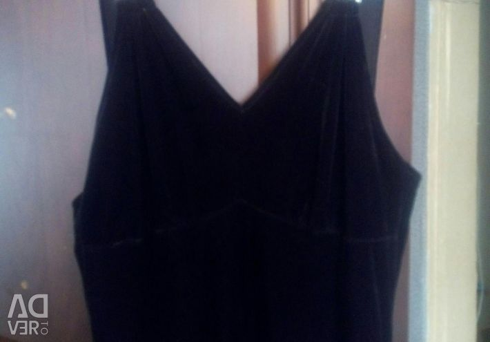 Velvet overalls