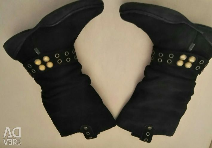 Stylish suede boots 19 cm