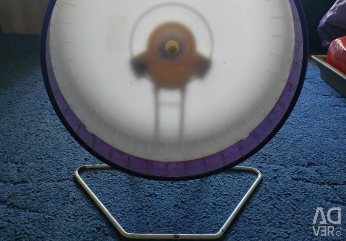 Колесо велике для великих гризунів