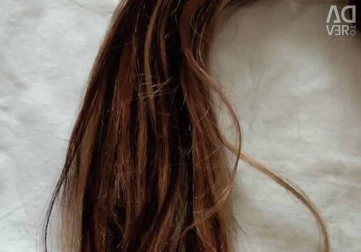 Продам волосся для нарощування 45см