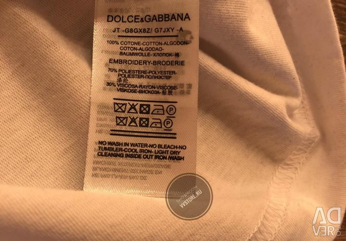 ✔️Футболка Dolce Gabbana оригинальная модель