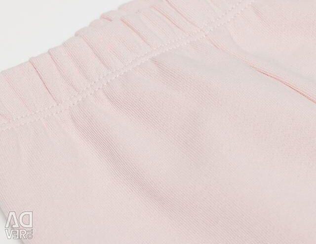 Новые байковые брюки из хлопка HM