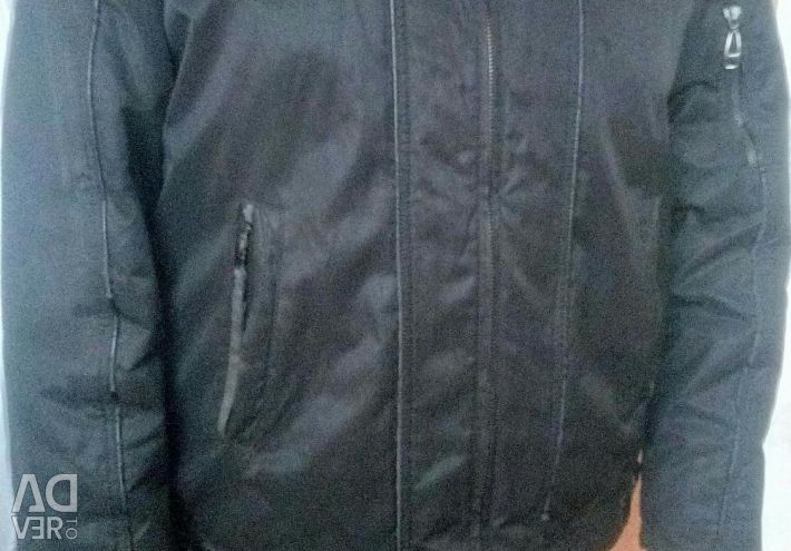 Jacket for men (there is fur lining, hood)