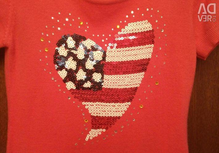 Costum de tunică tricot pentru o fată de 11-13 ani