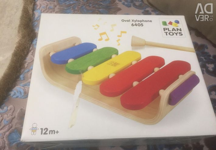 Children's musical instrument Oval xylafon