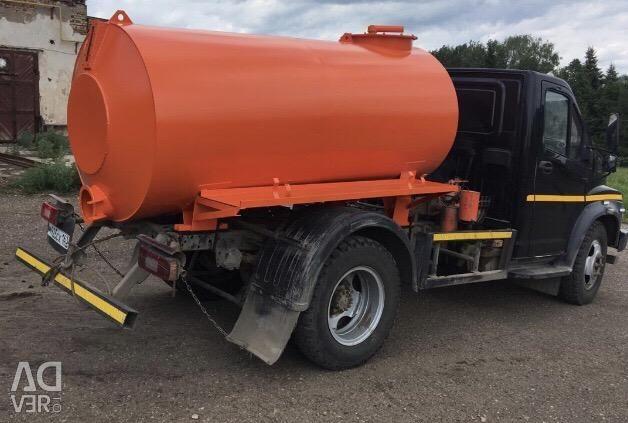 Drainage cask NEW 3.75m3 tank