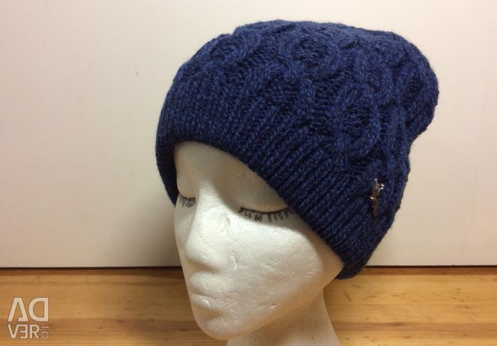 Charming knitted hat for fall, art 284