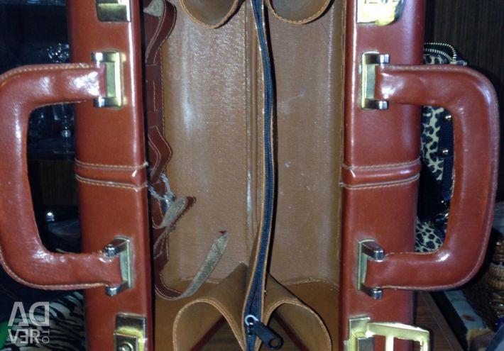 Τσάντα - Σκληρή σακούλα. nat.skin