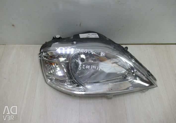 Headlight right Lada Largus oem 8200744754 (small chip) (CL-3)