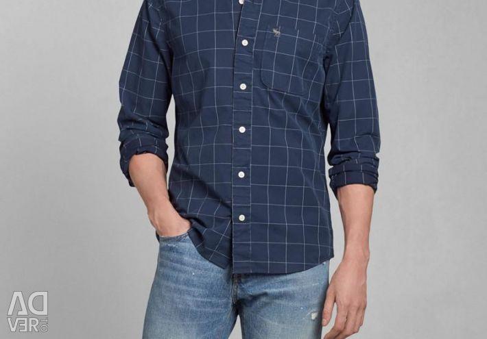 Abercrombie & fitch ανδρικό πουκάμισο