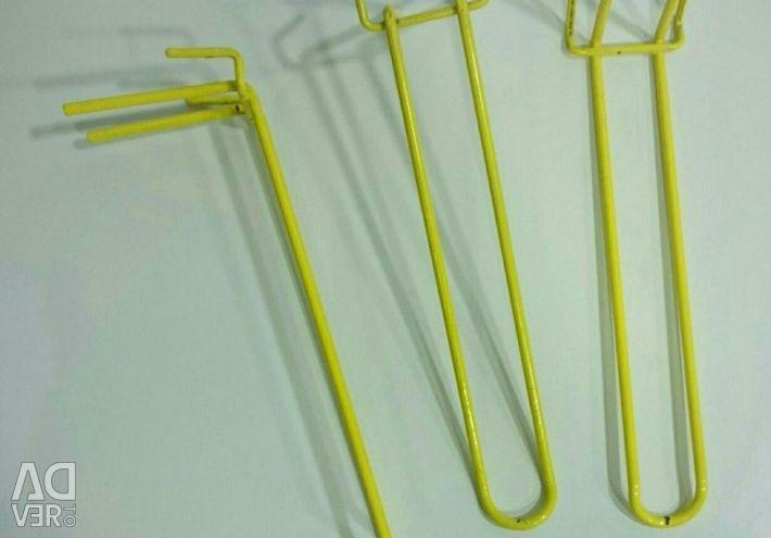 200mm mesh hooks