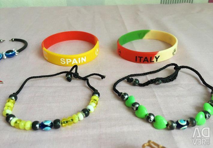 Women's Jewelry (rings, bracelets, key chains)