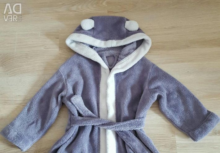 Selling children's dressing gown.