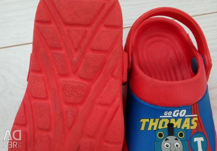 Slates. Slippers. Thomas. 21.5 size.