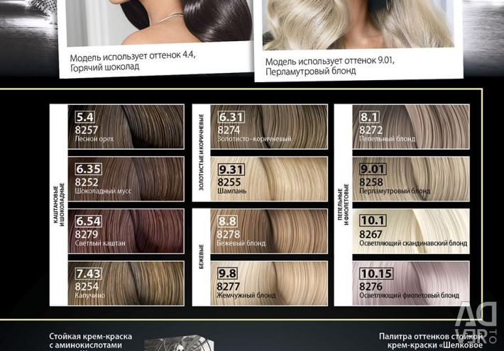 Persistent cream hair dye