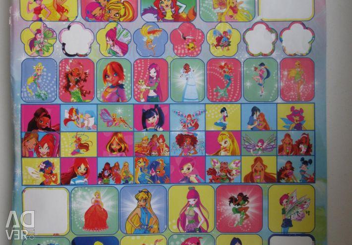 Winx Stickers