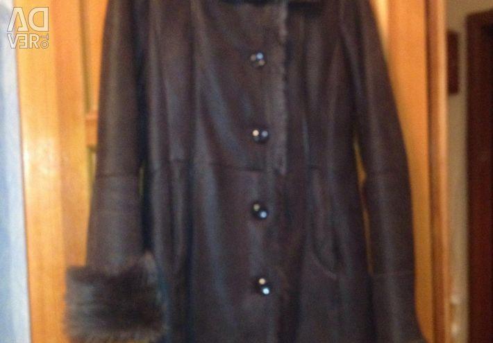 Sheepskin coat for wives. Bargain!