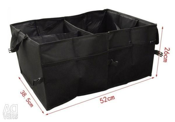 Bag organizer in the trunk (52 * 38.5 * 26 cm)
